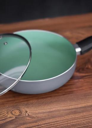 Сковорода michelino з високим бортом з кришкою 28116