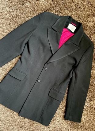 Удлинённый пиджак жакет vip