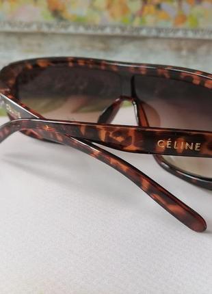 Брендовые женские солнцезащитные очки маска жіночі окуляри