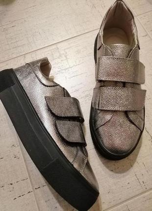 Кожаные туфли soldi