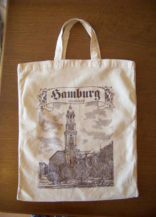 Холщовая сумка для покупок gamburg