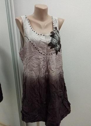Брендовый сарафан/платье/туника