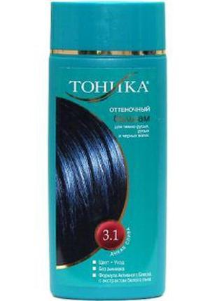 """Тоника оттеночный бальзам для волос """"дикая слива"""" 3.1"""