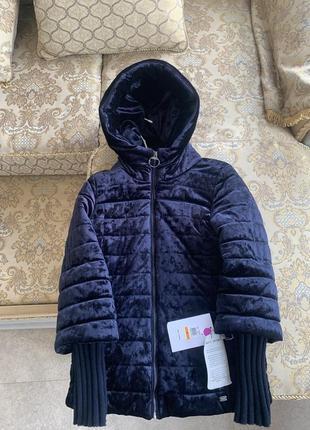 Куртка велюровая бархатная