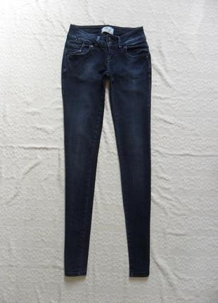 Стильные темно синие джинсы скинни ltb, 26 размер.