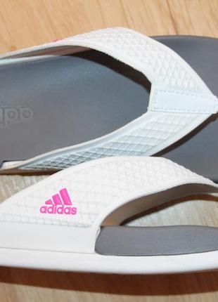 Фирменные женские шлёпанцы adidas, размер 36. 100% оригинал.