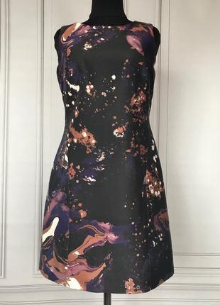 Платье плотное в составе шёлк англия karen millen