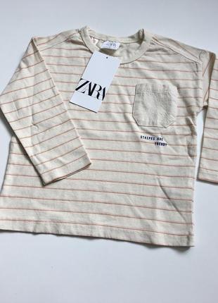 Zara кофта кофточка лонгслив футболка с рукавом