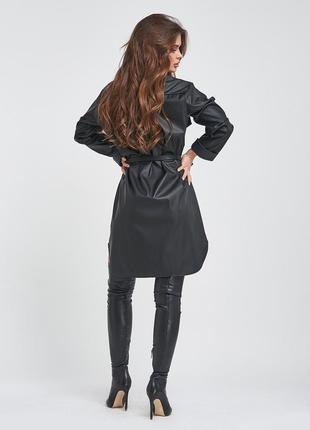 Плаття з еко-шкіри2 фото