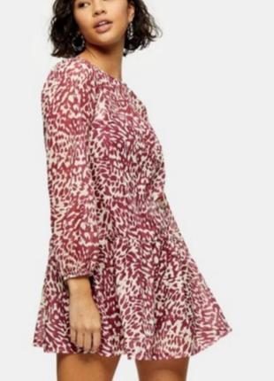 Платте, плаття, сукня, платье легкоес длинным рукавом, платье свободное