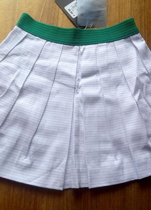 Красивая котоновая юбка на девочку trasluz рост 110/121(6 лет)