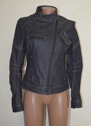 Куртка джинсовая косуха