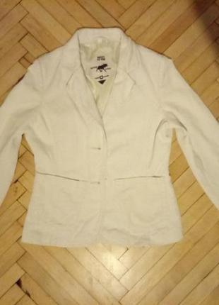 Трендовый жакет пиджак в рубчик