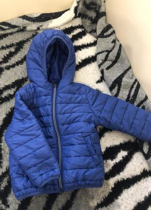 Куртка синя
