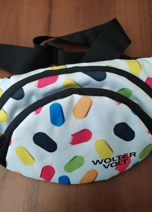 Женская сумка на пояс/через плечо