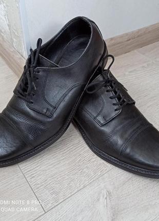 Кожаные туфли giancarlo nori италия
