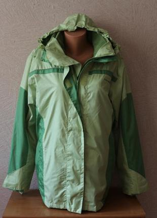 3в1 утепленная куртка+ветровка casual р.l-xl, германия