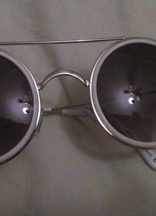 Белые круглые очки forever 21