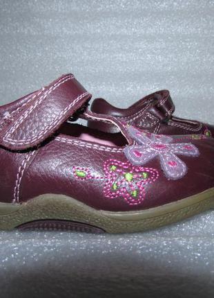 Туфли для девочки 100%нат кожа~hush puppies~англия р 24