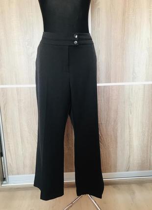 Повседневные прямые брюки большого размера