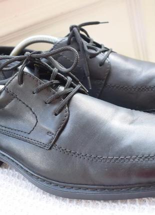 Кожаные туфли rieker на широкую р.43 29 см