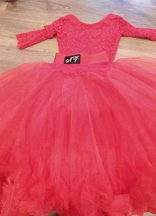 Только сегодня 1350.бальное платье бейсик красивого красного цвета 😍