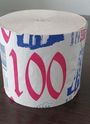 """Туалетний папір тм """"волинь"""" 100 ящик 48 штук (0145)"""