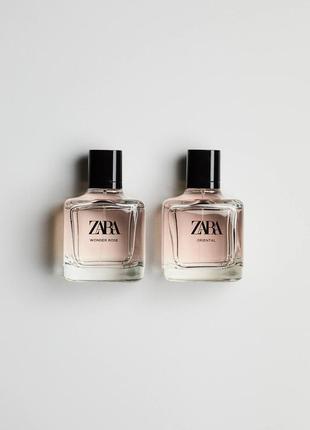 Zara wonder rose + zara oriental edt