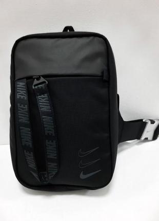 Оригинальная мужская сумка через плечо nike sprtswr essentials hip pack ba6144-011