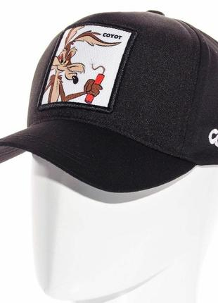 Мультяшна кепка бейсболка coyot койот разные цвета мужская женская