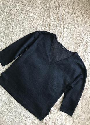 Тонкий свитерок пуловер next с металлической нитью
