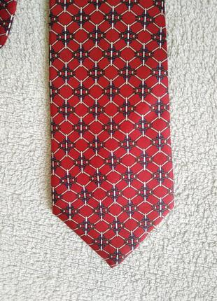 Шёлковый галстук giorgio armani