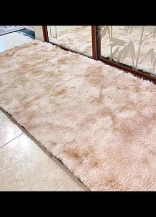 Меховый ворсистый коврик