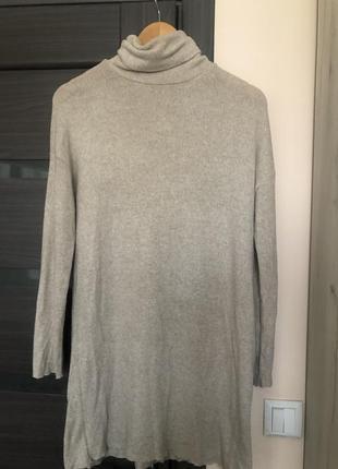 Удлинённый свитер zara
