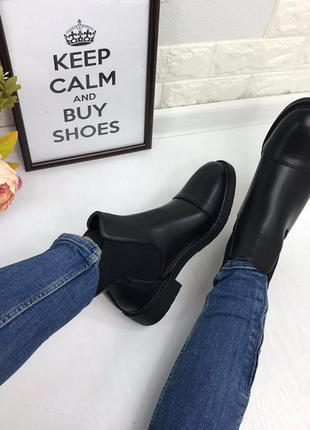 96dadf332 Женские осенние ботинки челси Турция, цена - 599 грн, #7607098 ...