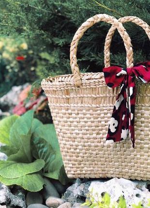 Плетёная сумка 🤩