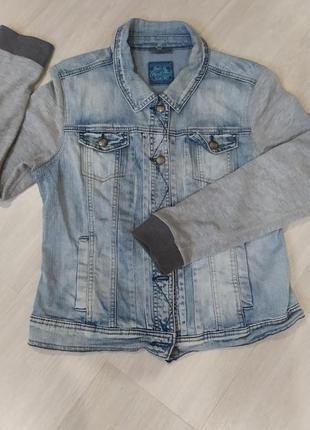 Джинсовая курточка, джинсовый пиджак