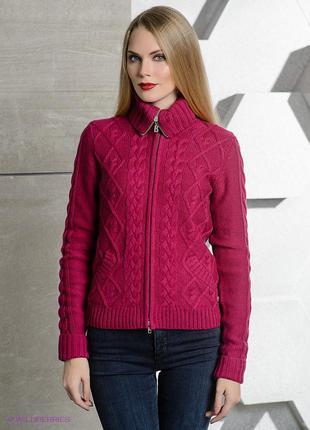 Нереально теплый свитер на змейке  на зиму
