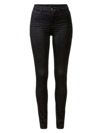 Стрейчевые черные женские джинсы esmara