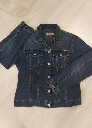 Джинсовая куртка, ддинсовый пиджак s.oliver italy