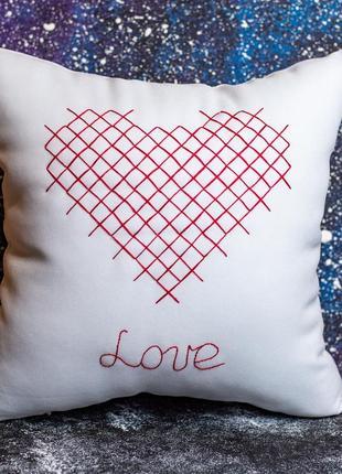 Акция! бесплатная доставка нп! декоративная подушка «любовь»