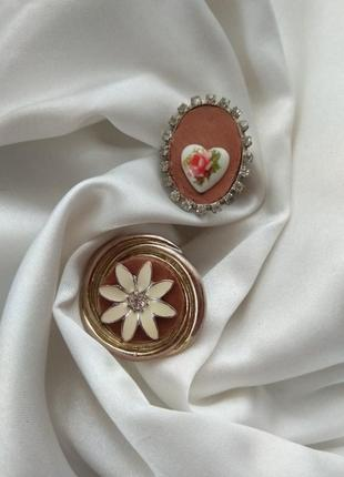 Винтажное кольцо в стиле бохо этно