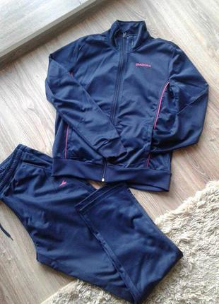 Спортивний костюм від італійського бренду diadora /спортивный костюм