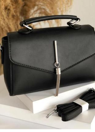 Практичная прямоугольная сумочка на каждый день