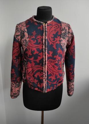 Стеганная курточка бомбер косуха от h&m