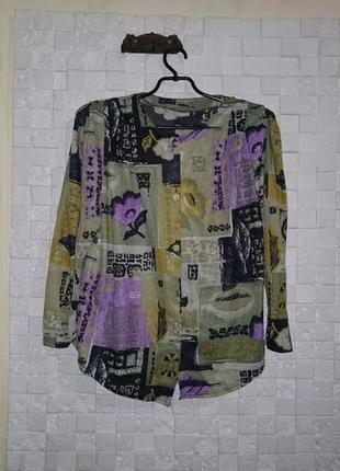 Блузка женская трикотажная 52
