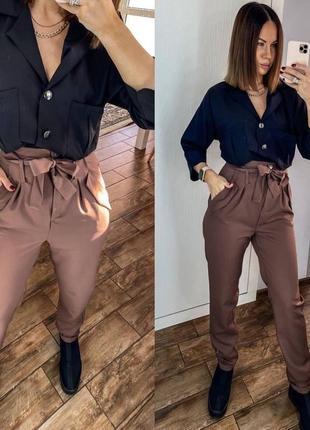 Костюм блузка и брюки