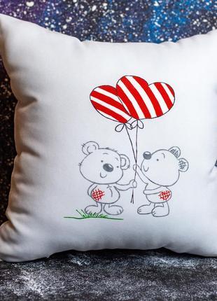 Акция! бесплатная доставка нп! декоративная подушка «мимишки»