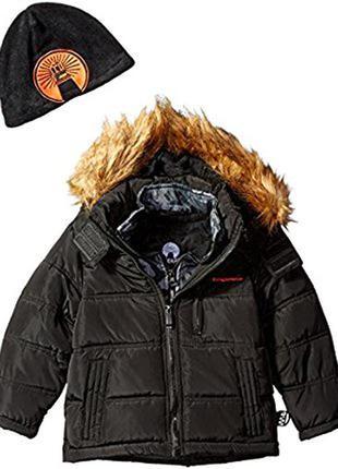 Зимняя куртка weatherproof с технологией софтшелл. размер xl 18-20. сша.
