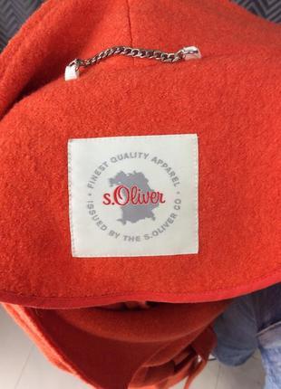 Продаём шерстяное пальто фирмы s.oliver4 фото